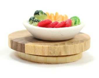 Miniature Lazy Susan - Mini Food Accessory