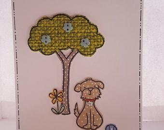 Handmade card,