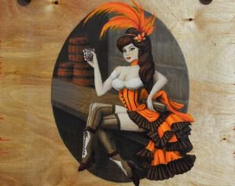 Sassy Saloon Girl