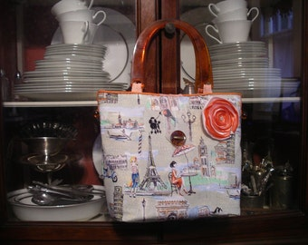 France and Italy Travel Bag