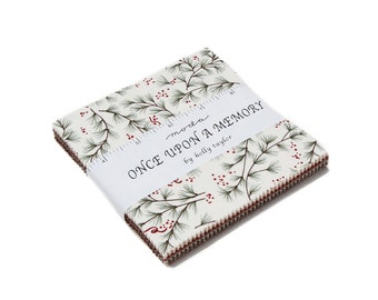"Once Upon A Memory Charm Packs (42 - 5"" x 5"" squares) designed by Holly Taylor for Moda Fabrics"