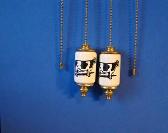 Cow Fan & Light ceiling fan pull chain, light pull chain