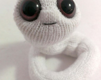 Pocket worm puppet, plush character