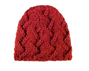 Climbing Vines Hat - Red