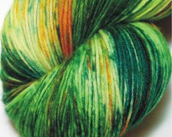 HOSTA DEEP- SW Handpainted Superwash Yarn