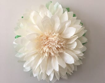 GIANT PAPER FLOWERS / Tissue Paper Flower, wedding decorations, baby shower, nursery decor, birthday decor, bridal shower, paper flower wall