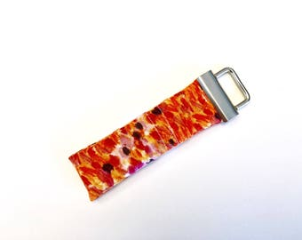 Chapstick Lip Balm Cozy Keychain-Orange Paint