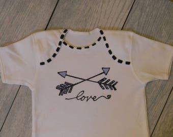 Love Blue Arrows