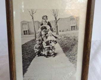 1935 Photo of Children. Vintage Photo