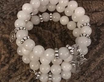 Catholic Rosary Wrap Bracelet