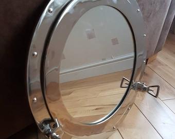 Large Porthole Mirror - Nautical mirror