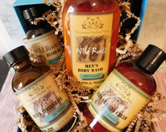 Men's Gift Basket -Wild Root Collection