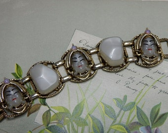 SELRO SELINI Moonglow Asian Princess Cabochon Bracelet    NBC17