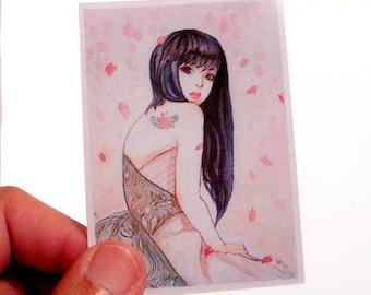 Sakura limited ACEO print