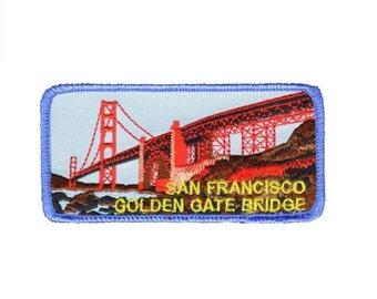 San Francisco Patch - Golden Gate Bridge, California (Iron on)