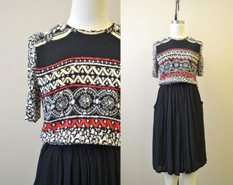 1980s-does-40s Dress