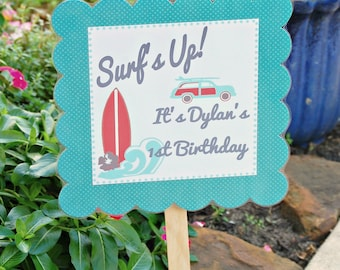 The Vintage Surf Collection - Custom Lawn Sign from Mary Had a Little Party