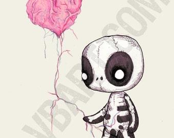 Heart Strings Fine Art Print