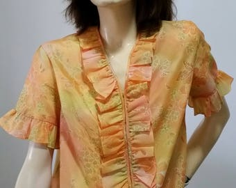 Beautiful vintage retro womens blouse
