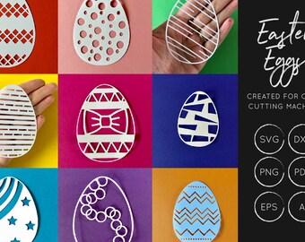 Easter Egg svg bundle