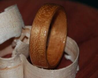 Mountain Black Cherry Wood Ring