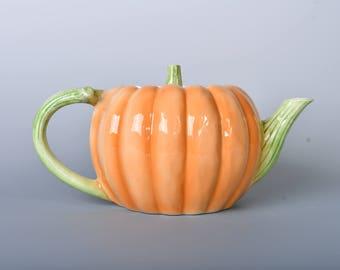 Ceramic Pumpkin Teapot