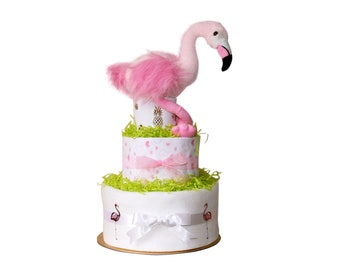 WILD FLAMINGO Nappy cake