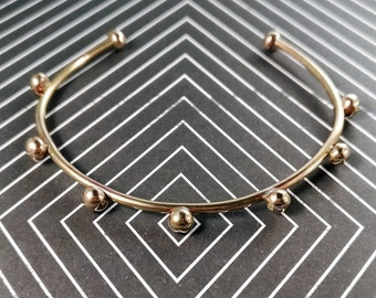 Boho cuff bracelet / Gypsy bohemian jewelry / steampunk brass / ancient greek  / gift for her / girlfriend gift / gift for mom / mom gift
