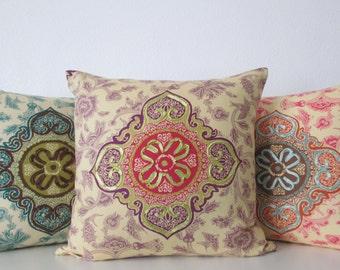 Iman Medina Tourmaline 16x16 Throw Pillow Cover