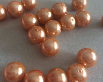 Lotto outlet 12 mm pearls waxed by 24