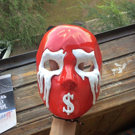 J Dog FIVE Mask Red Ver From Hollywood Undead