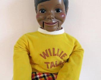 Black Willie Talk Ventriloquist Dummy/Puppet/Doll  *Hard to Find!