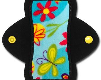 "Reusable Cloth Panty liner (6 inch Light - ""Sky"" Minky)"