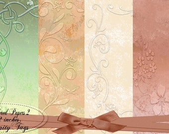 Six Pretty Bordered Papers 2