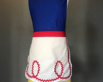 CHILD Snow White Themed Apron