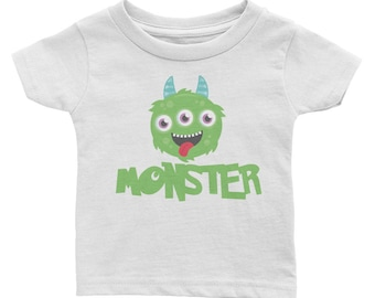I've Created A Monster Infant Monster Tee Matching