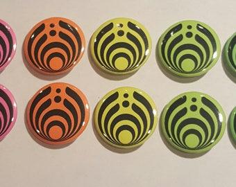 """Bassnectar 1"""" Buttons (10 Pack)"""