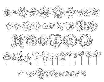 MTF Decorative Floral Font