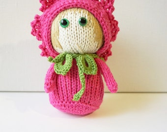 """Knitted toy """"Marguerite"""""""