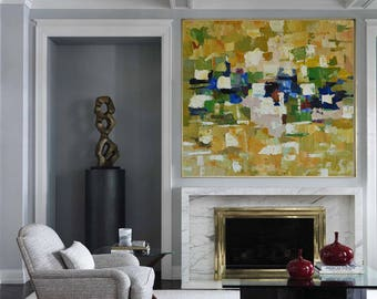 Original Large Abstract Art Painting On Canvas Acrylic Painting wall art Large Acrylic Painting On Canvas Minimalist Abstract Painting Art