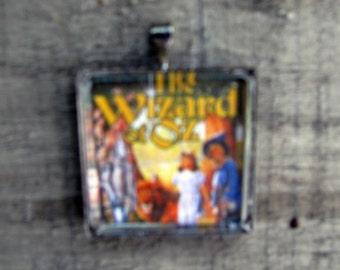 Wizard of Oz Necklace, Graduation Jewelry Gift, Unisex White Jewelry Gift, Recycle Jewelry, Wedding Party Jewelry, Mid-century Jewelry