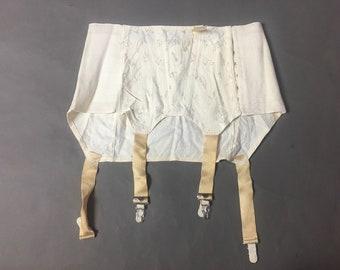 Vintage lingerie / vintage garter belt / vintage shaper / vintage girdle / vintage underwear / pinup lingerie 8167