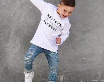 BANSHEES baby toddler unisex boy girl distressed destroyed skinny denim jeans Oshkosh