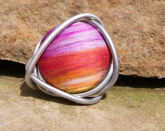 Loopster Handpainted Silk