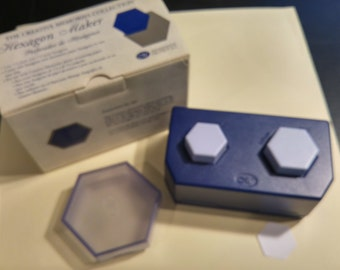 Creative Memories Mini Hexagon Maker/Puncher