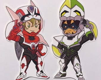 Tiger and Bunny Stickers