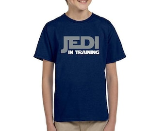 Jedi In Training - Jedi Shirt - Star Wars Shirt - Disney Shirt - Disney Shirt for Boy's - Disney Kids Shirt