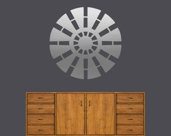 Windmill - Kids Room Family Room Kitchen Farmhouse Wall Decals