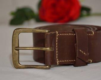 Leather Belt, Mens Belt, Men Belt, Belt Men, Belt Leather, Vintage Belt, Handmade Leather Belt, Beautiful Black Leather Belt