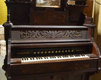 On Sale! LOCAL PICKUP ONLY Jax Fl: Antique Bell Organ & Piano Co Victorian Parlor Organ Guelph Ontario Canada